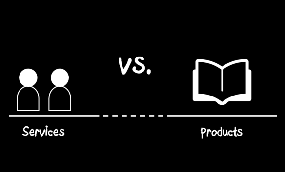 Services vs. products